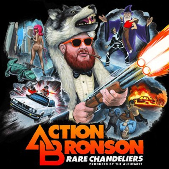 Action Bronson & Alchemist - Rare Chandeliers (Mixtape) : Fresh Laid Back Hip-Hop Mixtape - Featured Image