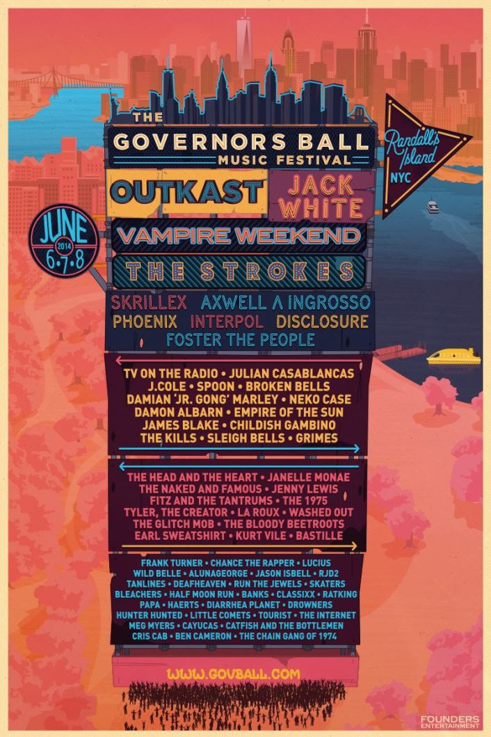 The Governors Ball Music Festival Announces Stunning 2014 Lineup - Featured Image