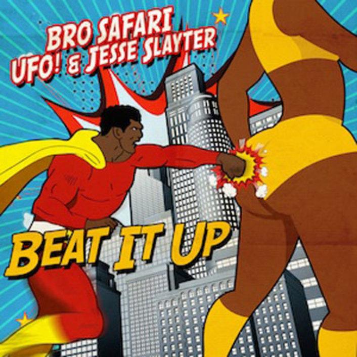 Bro Safari x UFO! x Jesse Slayter Team Up For 100bpm Trap / Bass Banger 'Beat It Up' [Free Download] - Featured Image