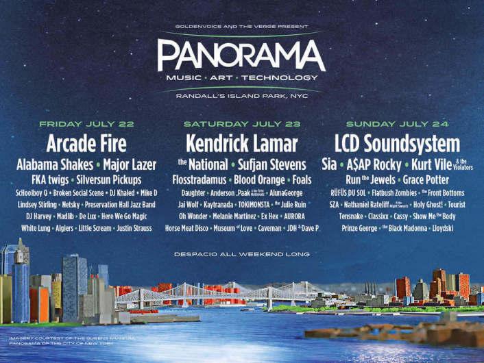 "Coachella Creators Announce First ""Panorama"" Music Festival Lineup Ft. Kendrick Lamar, Major Lazer, A$AP Rocky & More - Featured Image"
