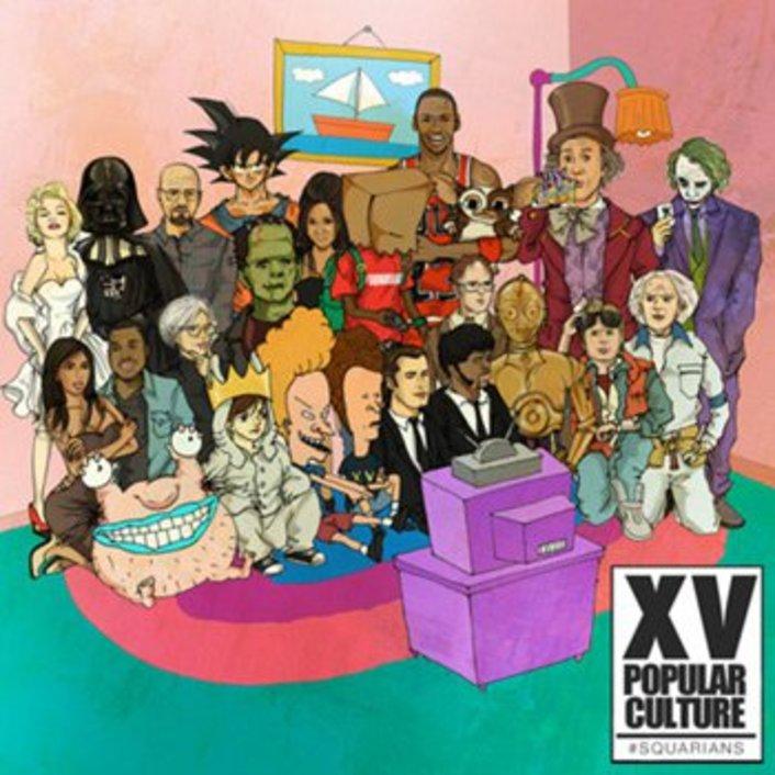 XV - Pop Culture (Mixtape) : Hip-Hop Mixtape - Featured Image
