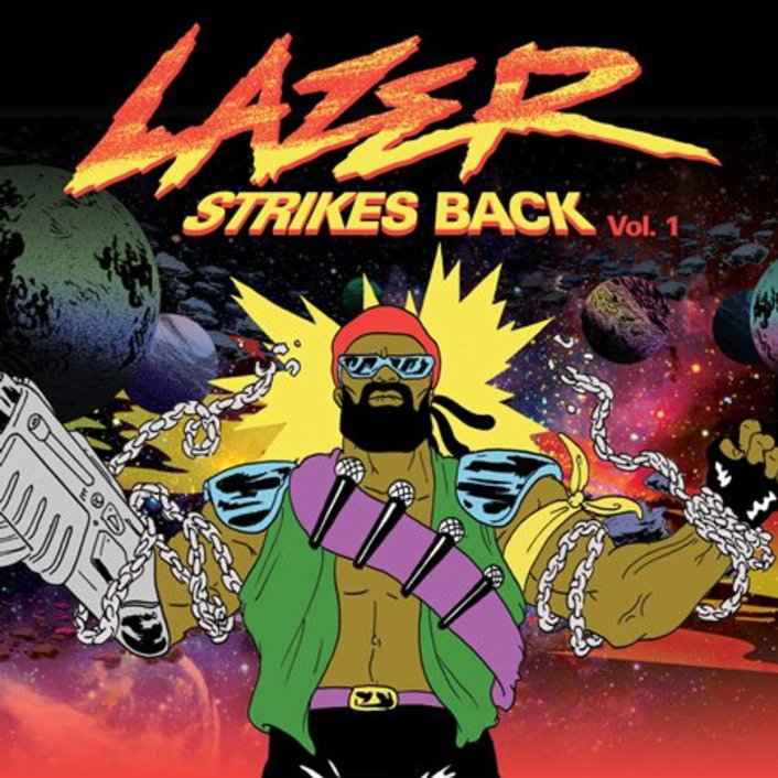 Major Lazer - Lazer Strikes Back Vol. 1 : 4 Free Song EP Including Hot Chip Remix [Free Download] - Featured Image