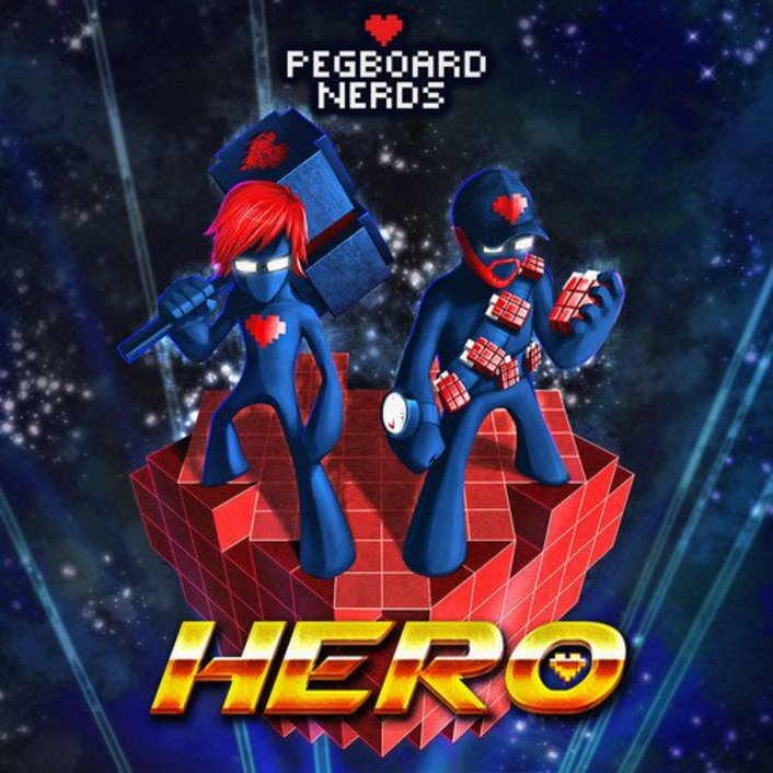 Pegboard Nerds - Hero ft. Elizaveta (Music Video) : Epic Superhero Wearing GoPro Video  - Featured Image