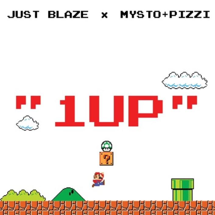 Just Blaze and Mysto & Pizzi - 1UP : Massive Trap Anthem [Free Download] - Featured Image