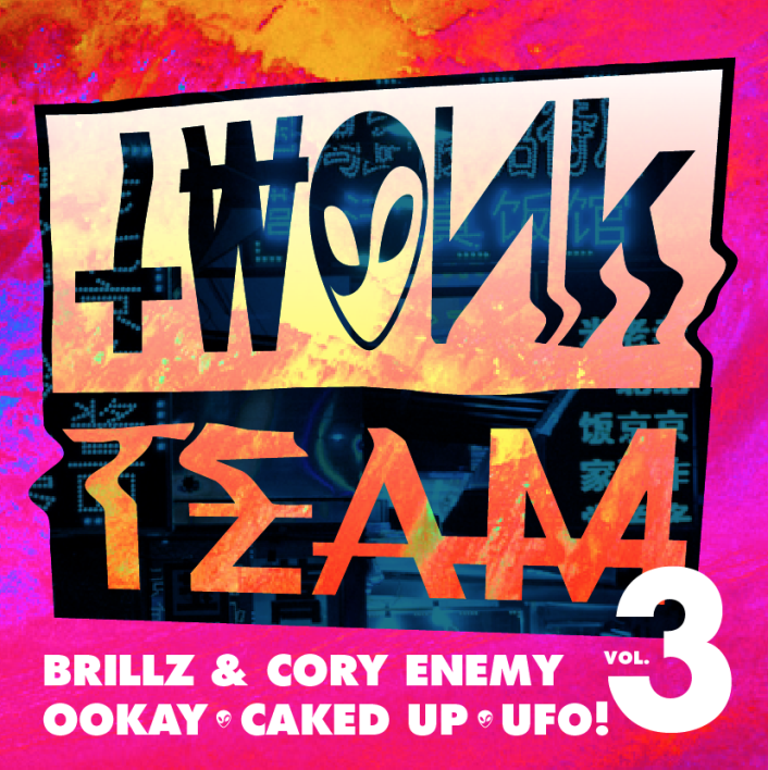 [PREMIERE] TWONK TEAM MIXTAPE VOL. 3 ft Brillz b2b Cory Enemy, Caked Up, Ookay, UFO!: Massive Trap / Moombahton Mixtape [Free Download] - Featured Image