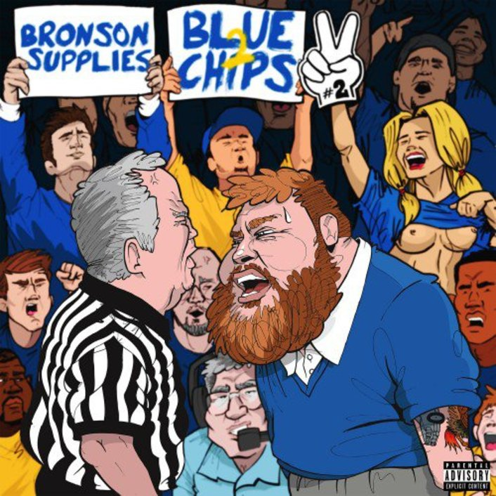 Action Bronson & Party Supplies Drop Amazing Hip-Hop Tape - Blue Chips 2 (Mixtape) : [Free Download] - Featured Image