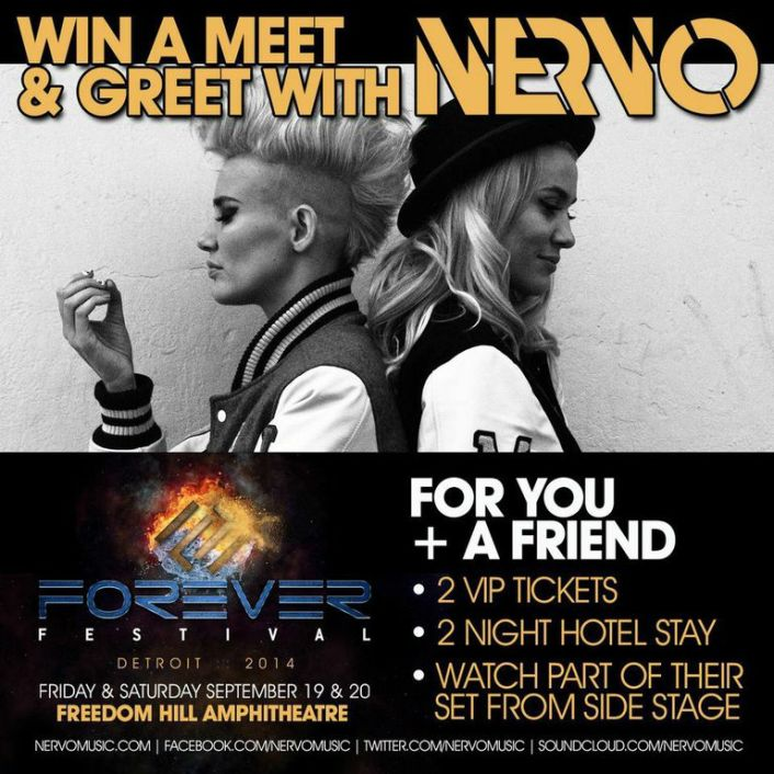 [CONTEST] Meet The Phenomenal Nervo + Win VIP Weekend At Forever Festival - Featured Image