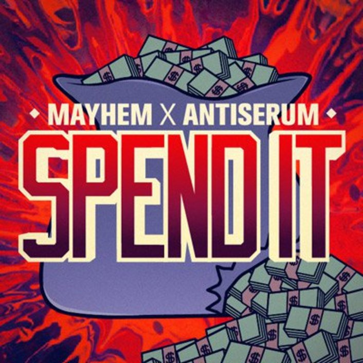 Antiserum & Mayhem - Spend it + Brick Squad Anthem : 2 Must Hear Massive Trap Anthems - Featured Image