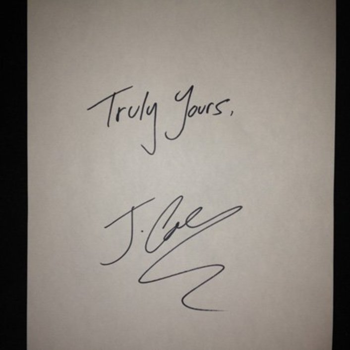 J. Cole - Truly Yours : 5 Song EP [Free Download] - Featured Image