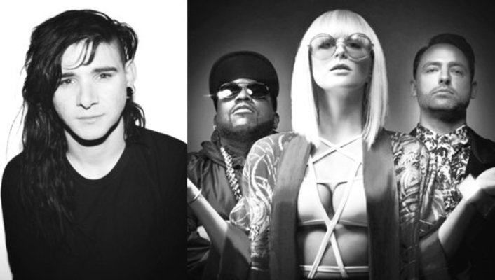 Big Grams Ft. Skrillex - Drum Machine : Huge Trap Collaboration - Featured Image