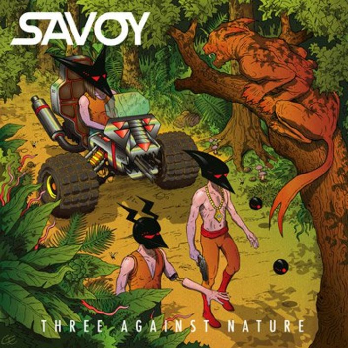 Savoy - Three Against Nature EP : Must Hear Electro House Rock [This Song Is Sick Premiere] [Free Download] - Featured Image