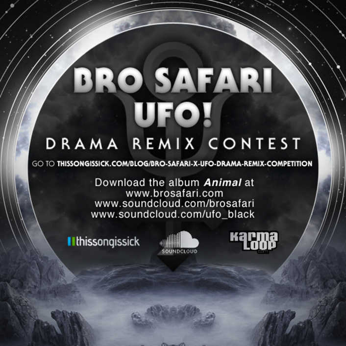 Bro Safari & UFO! Remix Competition Winners: Party Favor, Cory Enemy & Luke Shay, Notixx  - Featured Image