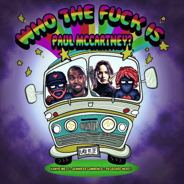 Pegboard Nerds - Who The F*ck Is Paul McCartney!? (Ft. Kanye West & Jennifer Lawrence) [Free Download] - Featured Image
