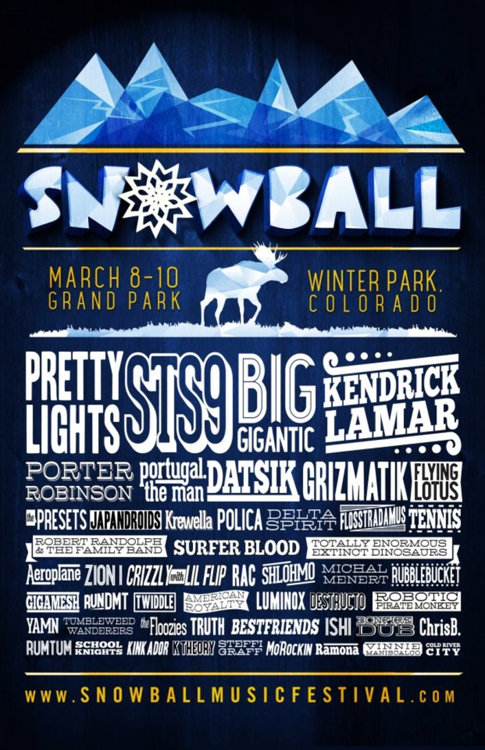 SnowBall Music Festival 2013 Complete Massive Lineup - Featured Image